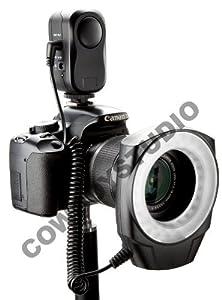 CowboyStudio Macro Ring LED Light, Compatible with Canon/Sony/Nikon/Sigma lenses
