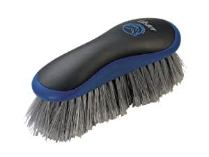 Oster Equine Care Series Grooming Brush, Stiff Bristle, Synthetic, Blue