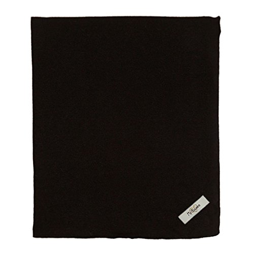 "My Blankee Organic Cotton  Jersey Knit Swaddle Baby Blanket, 47"" X 47"", Black"