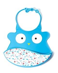 Visiomed Baby NT-BA1 - Babero de silicona con bolsillo recogedor en BebeHogar.com