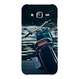 Impressive Cruise Bike Multicolor Back Case Cover for Samsung Galaxy J5