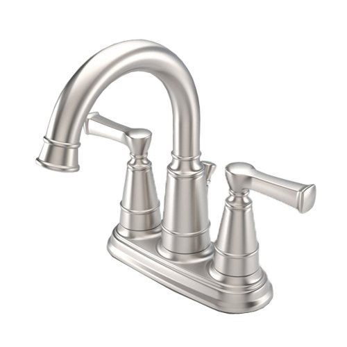 New Aquasource Brushed Nickel 2 Handles Watersense Bathroom Sink Faucet Leo Rays5555
