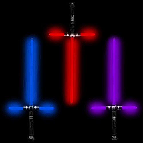Fun Central (AU173) Light Up 27 Inch Tri-Saber with Sound- Multicolor - 3 Packs (Tri Central compare prices)