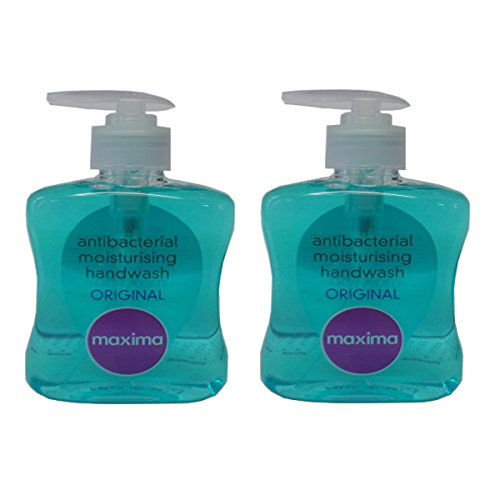 2-x-maxima-anti-bacterial-hand-soap-pump-250ml-bathroom-toilet-antibac-sanitary