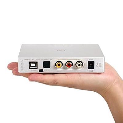 SMSL M8 DAC ES9018 XMOS Optical/Coaxial/USB Asynchronous-3yr Warranty