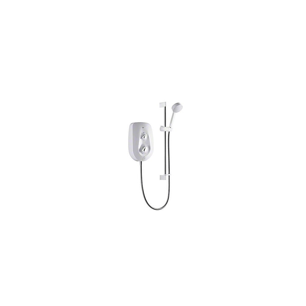 Mira Vie Electric Shower 8.5kW (White/Chrome)       reviews and more information