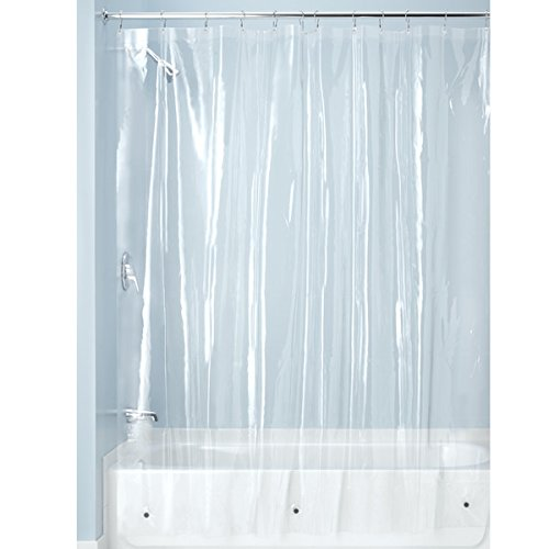 interdesign-pvc-free-peva-3-gauge-shower-curtain-liner-183-x-183-cm-clear