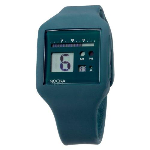 Nooka Unisex ZUB-ZOO-ST-20 Zub Zoo Steel Polyurethane Watch