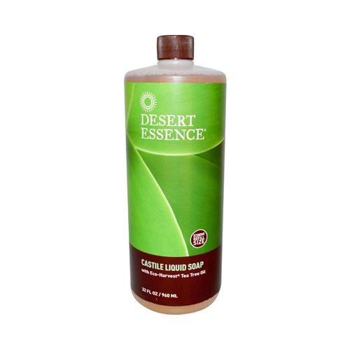 Wholesale Desert Essence Castile Liquid Soap With Eco-Harvest Tea Tree Oil - 32 Fl Oz, [Health & Beauty, Soaps]