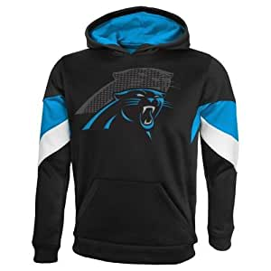 """Amazon.com : Carolina Panthers Youth NFL """"The Edge"""" Pullover Hooded"""