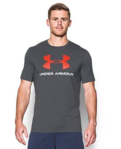 Under Armour Men's UA Sportstyle Logo T-Shirt X-Large Carbon Heather