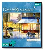 500 Piece Days to Remember American Classic Jigsaw Puzzle
