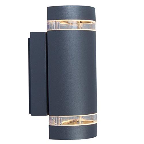 Eco-Light-Moderne-Auenwandleuchte-Focus-Up-und-Downlight-Fassung-GU10-IP44-6040-GR
