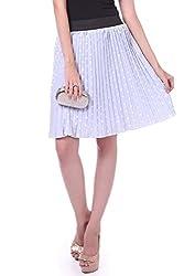 Sassafras Women's Skirt (SFSKRT3011S_Blue_Small)