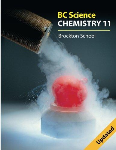 Bc Science Chemistry 11: Brockton School