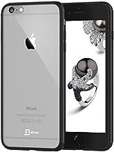 iPhone 6 Funda, JETech Apple iPhone 6 4.7 Case Cover Carcasa Funda Bumper Tope Shock- Absorción y Anti-Arañazos Borrar Espalda para iPhone 6 4.7 (Negro)