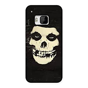 Gorgeous Vintage Skull Face Back Case Cover for HTC One M9