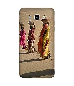 Indian Women Samsung Galaxy J5 Case