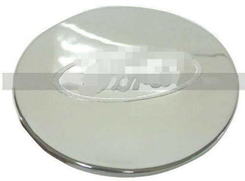 Car Chrome Stainless Steel Fuel Door Gas Tank Cap Lid Cover Trim Exterior Fit For 2011 2012 2013 Explorer