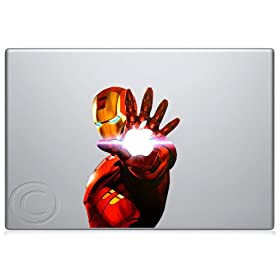 Iron Man 2 Macbook Decal Mac Apple skin sticker