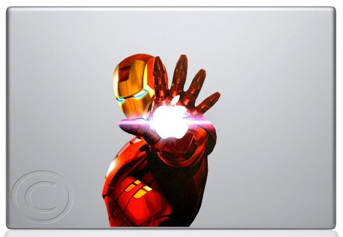 Iron Man 2 Macbook Decal