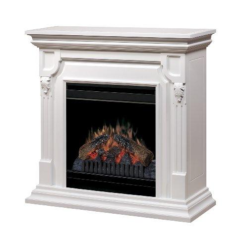 Dimplex Warren Convertible Electric Fireplace, CFP3902W, White image
