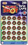 8 Shot Caps - 25 rings per card [Toy]