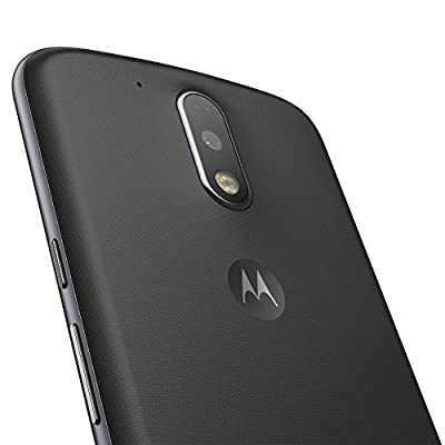 Moto G Plus, 4th Gen (Black, 32 GB)