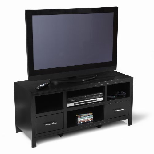 buy low price convenience concepts 8043387 sierra highboy tv stand for flat panel tv s up to 50. Black Bedroom Furniture Sets. Home Design Ideas