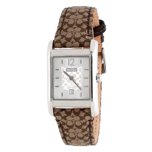 Coach Women's Carlisle Signature Strap Watch 14501414