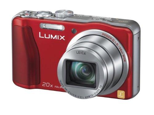Panasonic デジタルカメラ ルミックス GPS搭載 高倍率 レッド DMC-TZ30-R