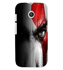 ColourCraft Eyes Design Back Case Cover for MOTOROLA MOTO E
