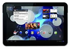 Motorola Xoom Tablet (25,7 cm (10,1 Zoll) HD-Touchscreen, Wifi, 3G, Android 3.0, Dual-Core Prozessor) schwarz/silber