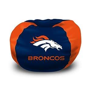 """Denver Broncos NFL Team Bean Bag (102 Round)"""""""