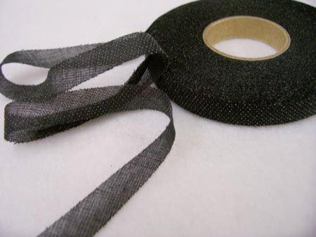 Design Plus Bias Fusible Stay Tape By L.J. Designs - Black