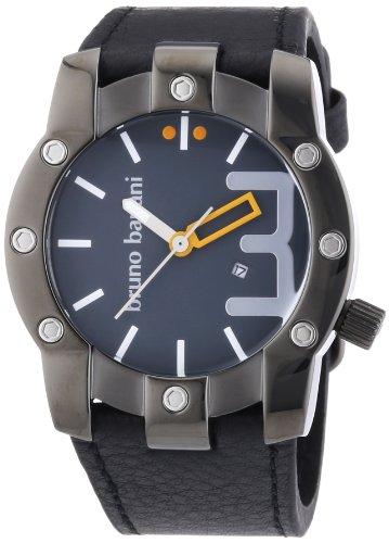 Bruno Banani Men's Quartz Watch Analogue XL Leather BR22070 Seth