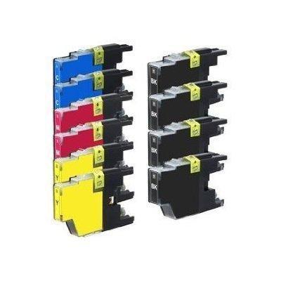 10 Top Yield Suitable Ink Cartridge Combo, LC75 (4xBk, 2xC, 2xM & 2xY)