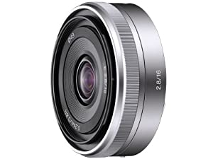 Sony Alpha 16mm F2.8 Wide-Angle E-Mount Lens for NEX-5 NEX-3 | SEL16F28
