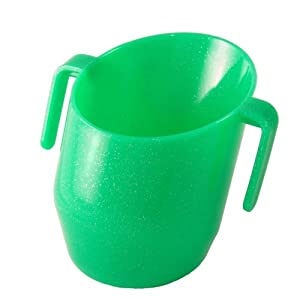 Bickiepegs Doidy Cup - Green Sparkles
