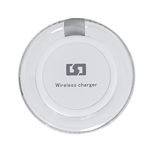 Wireless Charger, Ultra Light Qi Charging Pad With Breathing LED Slip-Proof Pad For Samsung S7/S7 edge/S6/S6 edge/Note 5, Google Nexus 4/5/6/7 (White) (Moto G Inductive Charging compare prices)