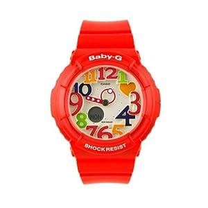 Casio BGA131-4B - Reloj de pulsera hombre, resina, color rojo