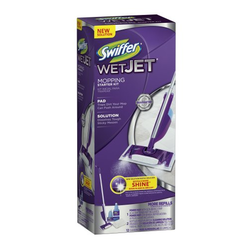 WetJet Spray Mop Floor Cleaner Club Starter Kit (Swiffer Wetjet Starter compare prices)