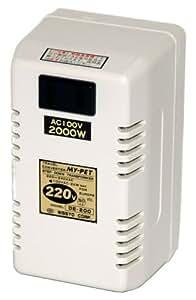 日章工業 トラベルコンバータ熱器具用 マイペットシリーズ DE-200