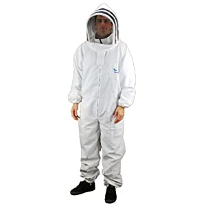 Professional-grade Bee suits, Beekeeper suits, Beekeeping Suits - Eco-Keeper (Medium)