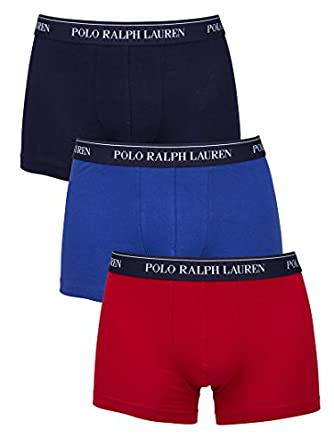 Polo Ralph Lauren - Multicolore 3 Pack Trunks - Homme - Taille: S