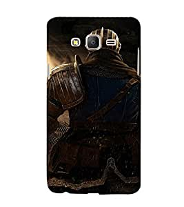 EPICCASE The Warrior Mobile Back Case Cover For Samsung Galaxy E5 (Designer Case)