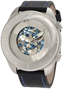 Android Men's AD526BBU  Ninja Star Skeleton Automatic Blue Watch