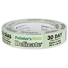 Duck Brand 666015 Painter&#039;s Mate 24-Millimeter-by-55-... for Delicate Surfaces, Green