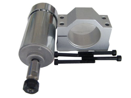 300w 12v-48v Air-cooled Spindle Motor with Mount Bracket for Engraving Milling