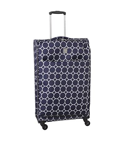 Jenni Chan Aria Park Ave 28 Spinner Luggage, Navy